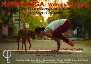 Hatha Yoga with Masha @ Φ Space Αρμονικός Πολυμορφικός Χώρος